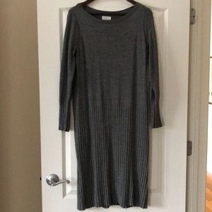 Lou & Grey Speckled Sweater Dress
